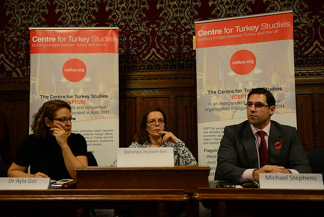 CEFTUS Westminster Debate 'Turkey, the Kurds and the Crisis in the Middle East'