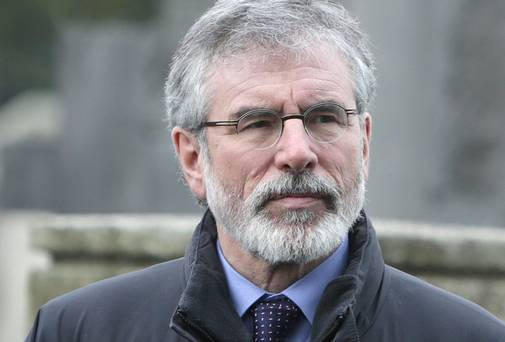 President of Sinn Féin Gerry Adams' Anniversary Message