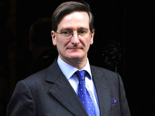 Rt Hon Dominic Grieve QC MP's Anniversary Message