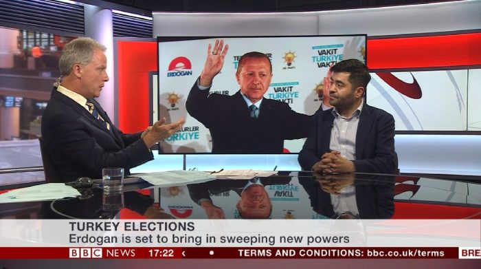 BBC News Channel Interview with CEFTUS Director Ibrahim Dogus