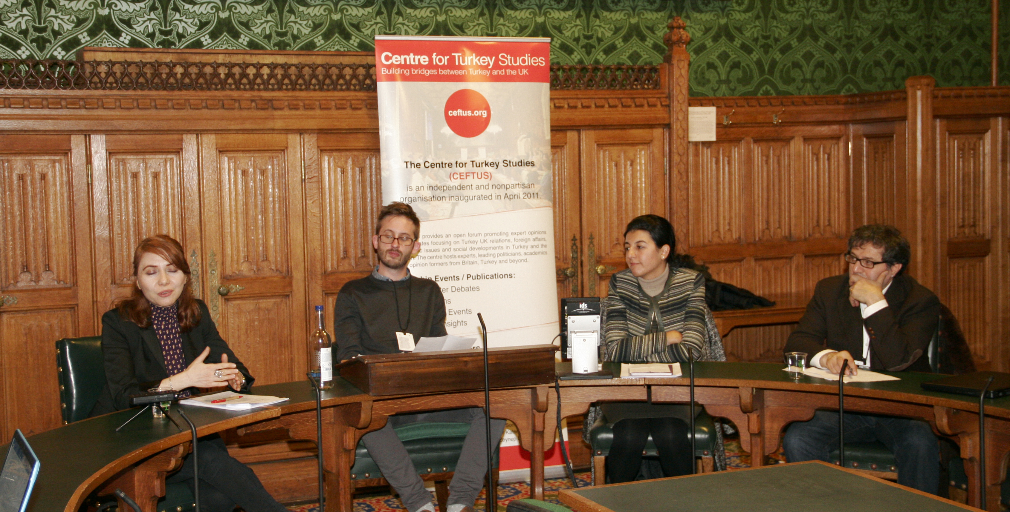 "Westminster Debate ""Entrepreneurship and the Integration of Syrian Refugees in Turkey and Egypt"""