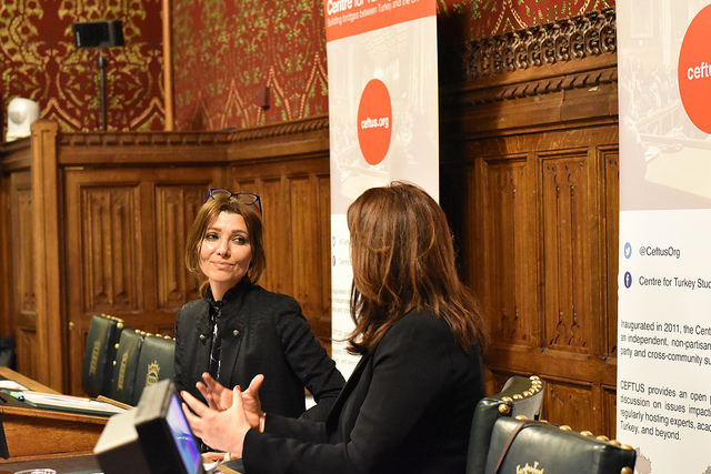 "Westminster Debate ""Who is 'we the people'?"" Elif Shafak in conversation with Rachel Shabi"
